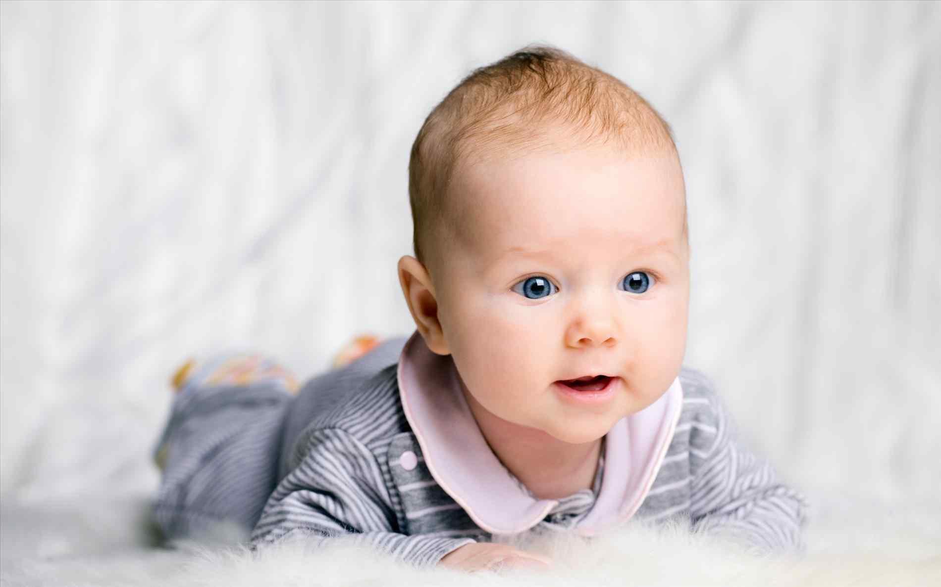Фото детей в 4-5 месяцев