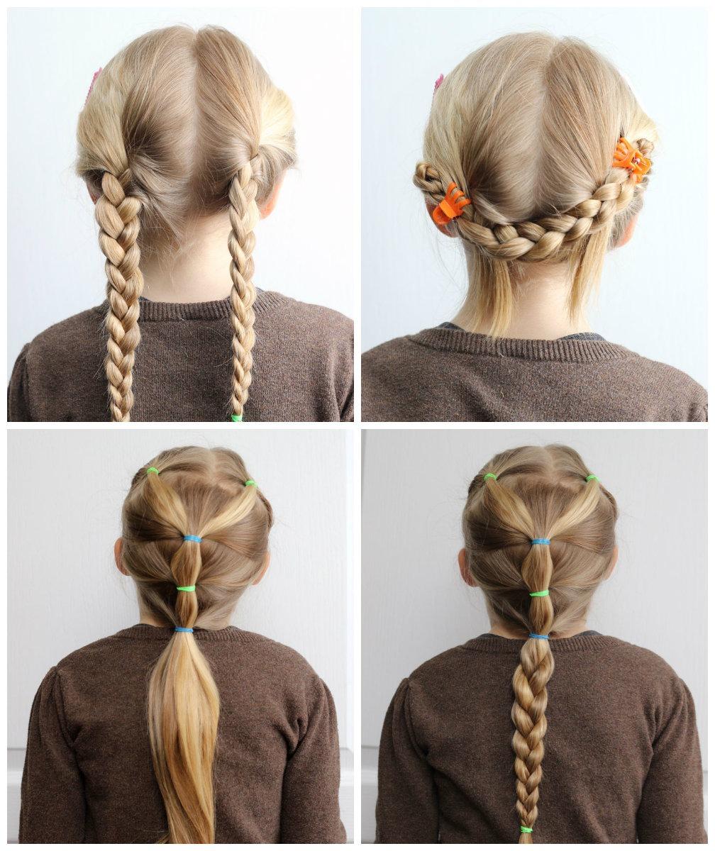 Как сделать прическу в школу из коротких волос