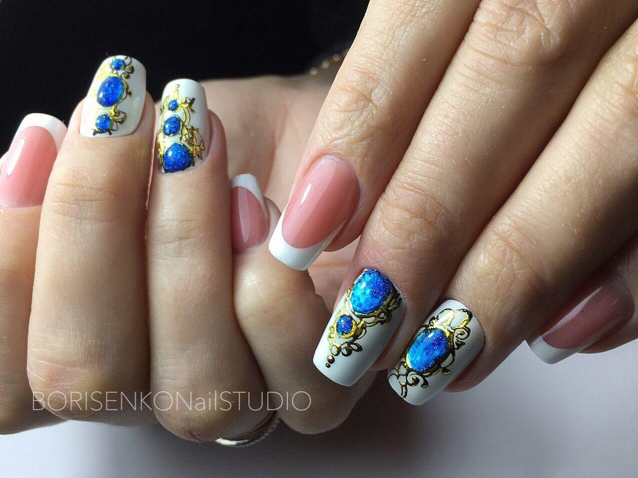 Лепка на ногтях 2018 фото