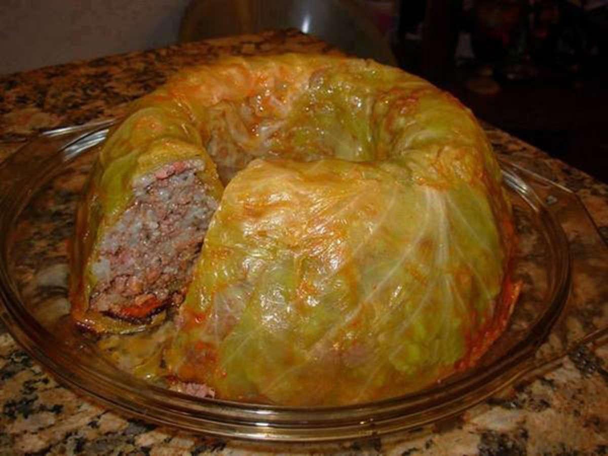 Приготовление ленивых голубцов с мясом пошаговый рецепт