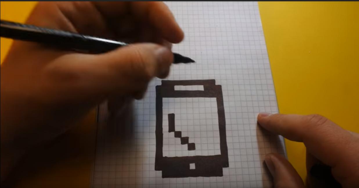 Заполнить квадраты с точками