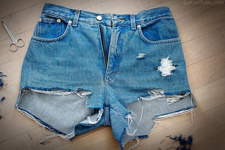 Готовые шорты