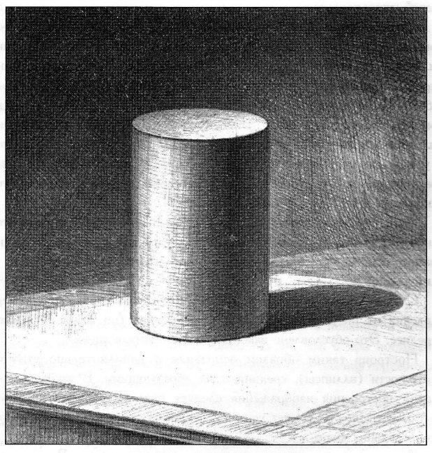 Цилиндр карандашом
