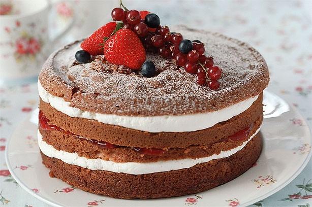 Готовый творожный торт