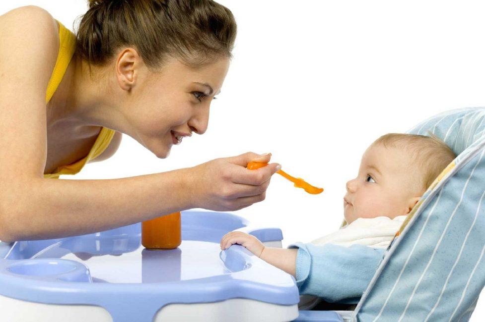 Некоторые продукты малыш может отказаться кушать