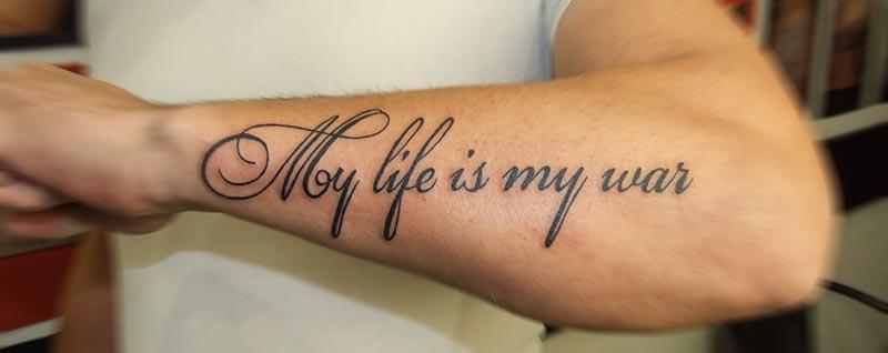 My life — my war — Моя жизнь – моя война