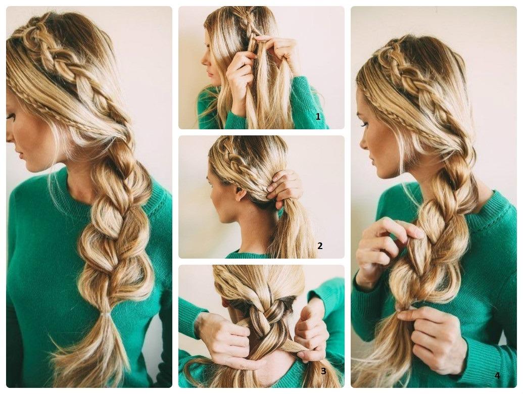 Делаем локоны на средние волосы в домашних условиях