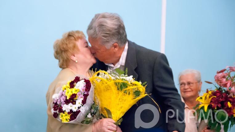 Поцелуй юбиляра