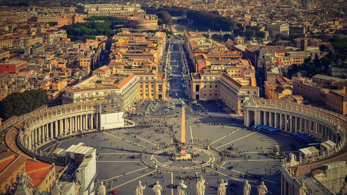 Рим. Площадь Святого Петра