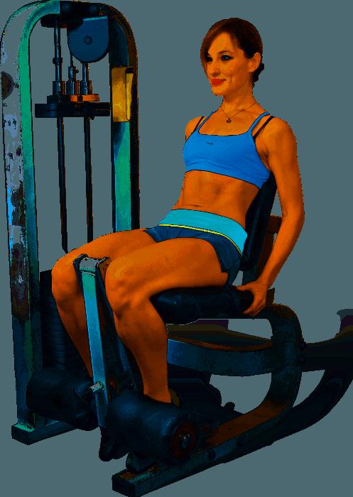 Работа ног, предназначенная для квадрицепсов