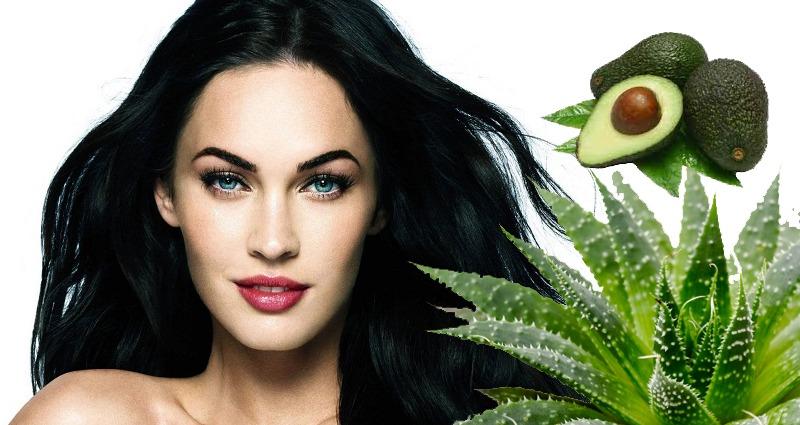 Сок алоэ и авокадо укрепят волосы и простимулируют их рост