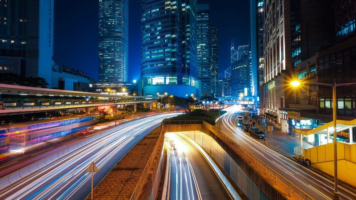 Ночной Гонконг потрясает воображение