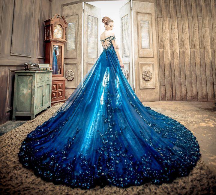 Синий цвет — к исполнению желаний
