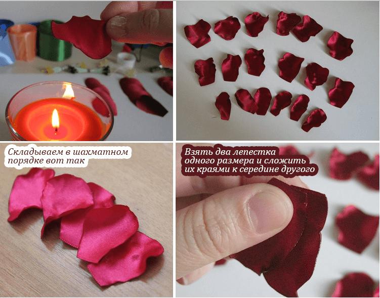 Изготовление лепестков