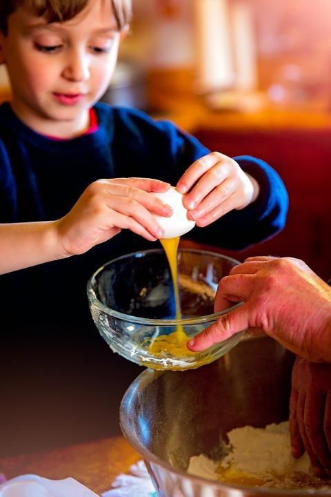 Приобщайте детей к процессу приготовления домашнего хлеба
