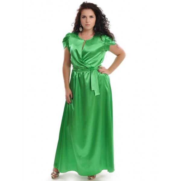 Платье, изготовленное из шелковой ткани высокого качества