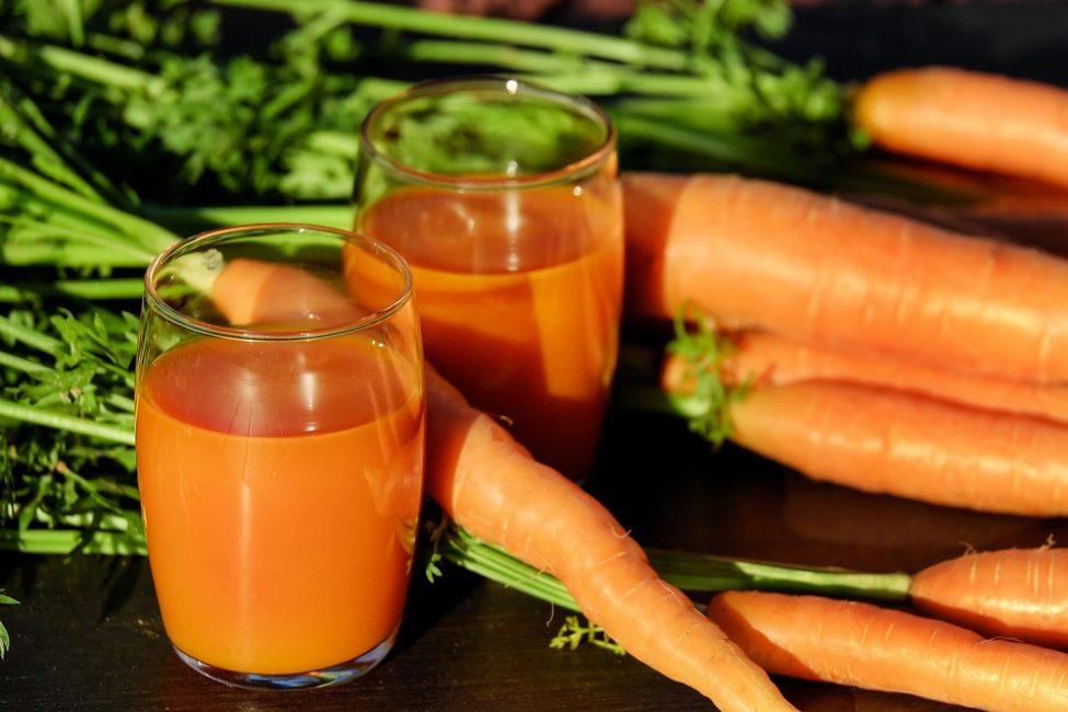 Морковный сок – средство от кашля, проверенное временем