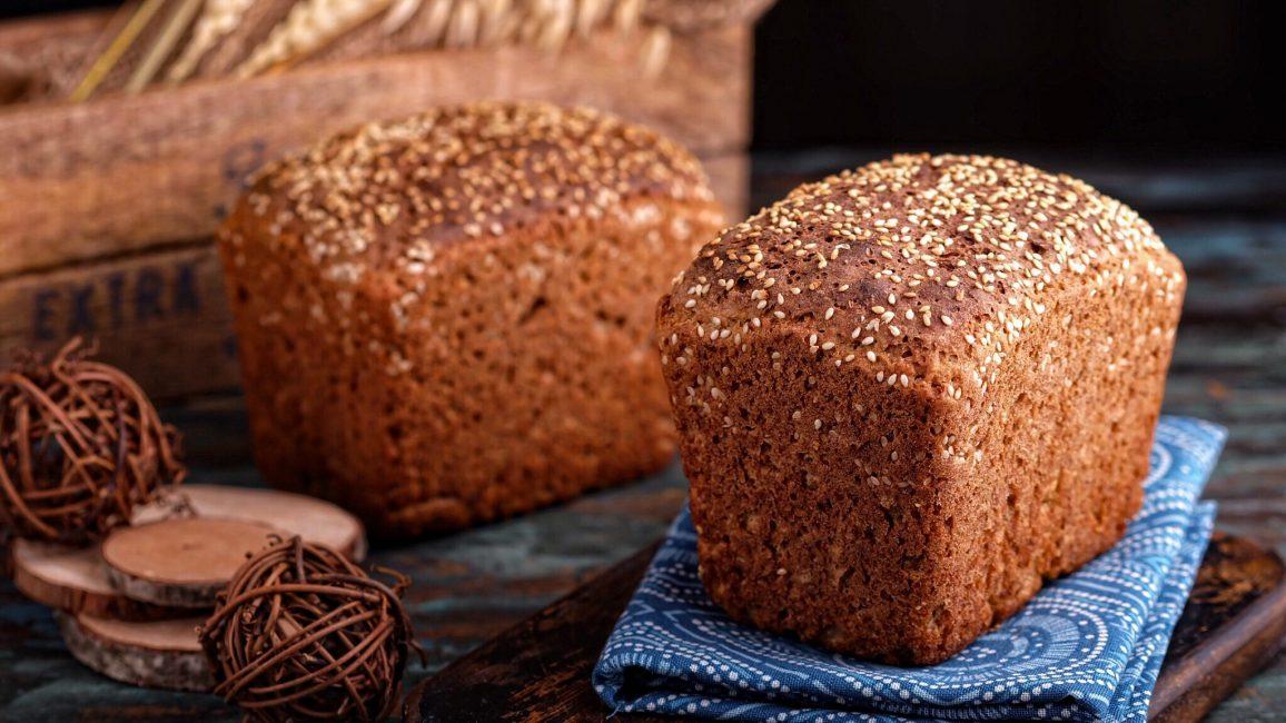 Буханка ржаного хлеба