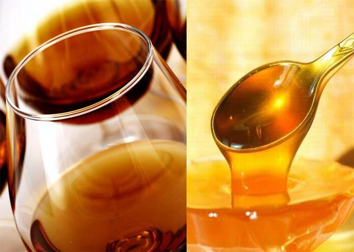 Коньяк и мед