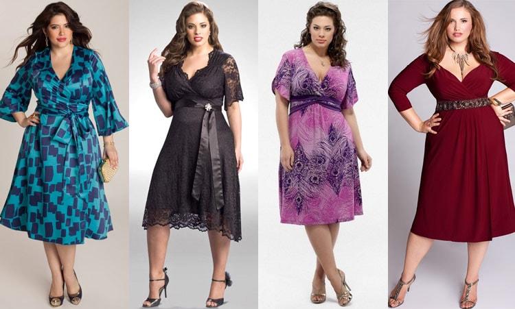 Разные фасоны вечерних платьев для одного случая