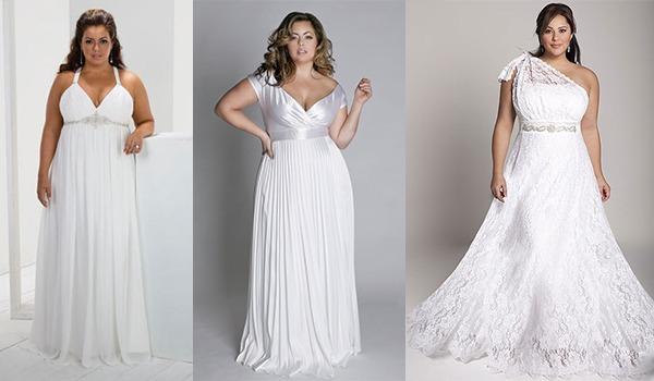 Красивые фасоны свадебного платья для полнотелых невест