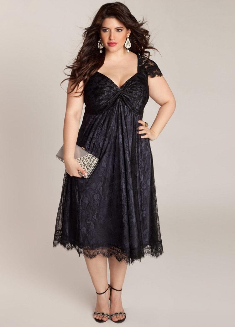 Удачно подобранный покрой платья в стиле ампир