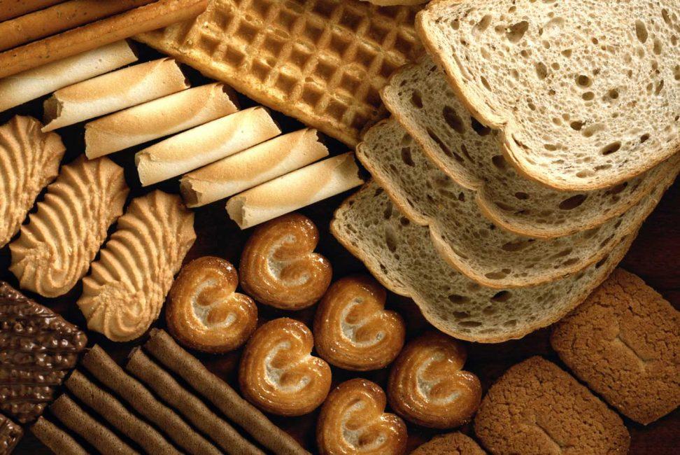 Уменьшите количество хлебобулочных изделий