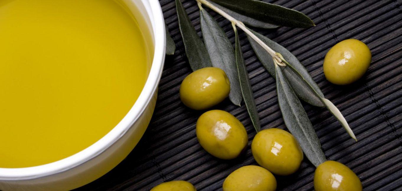 С оливковым маслом