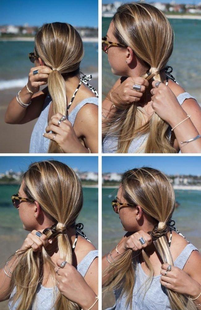 Плетение красивой косы