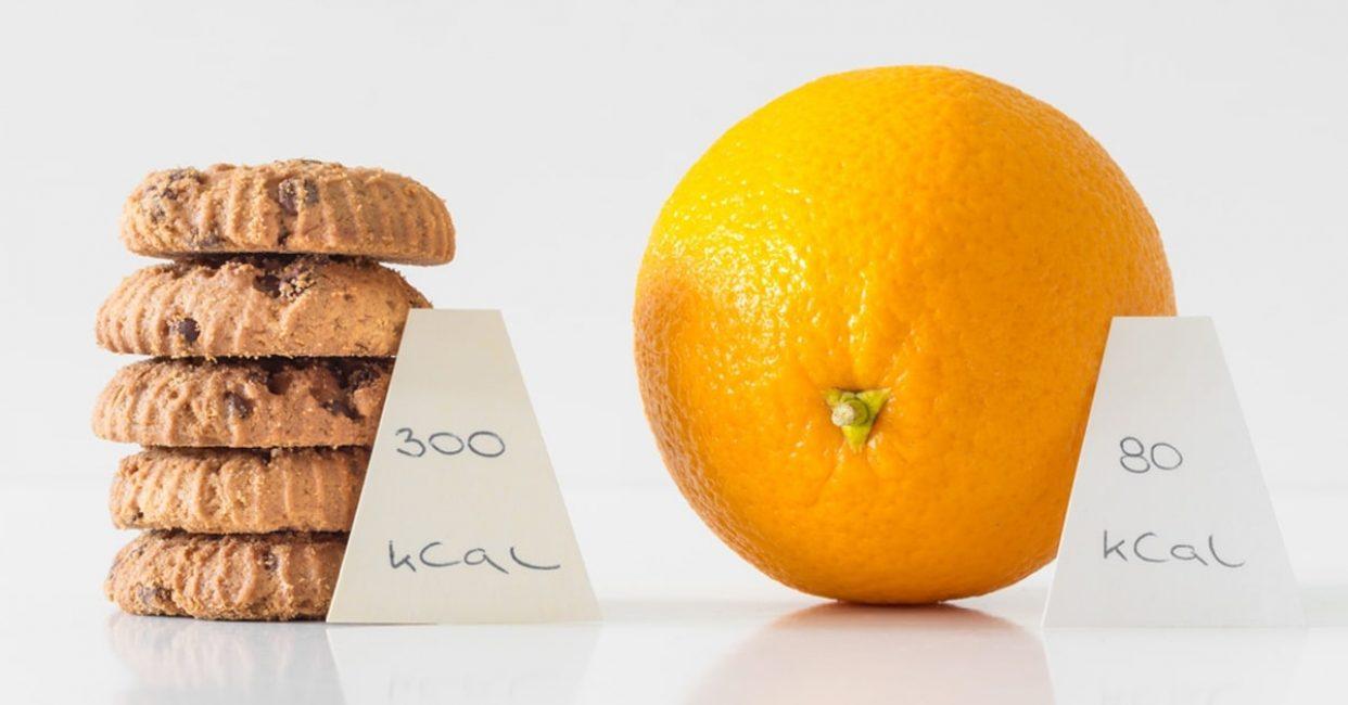 Лучше скушать апельсин, чем калорийное печенье