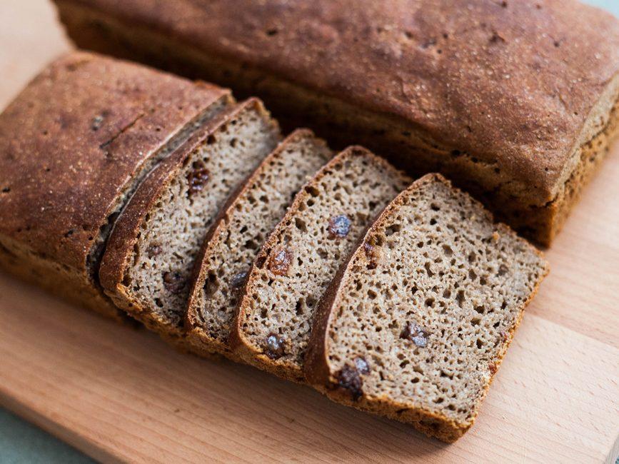 Помните, что выпекание ржаного хлеба происходит при более высокой температуре