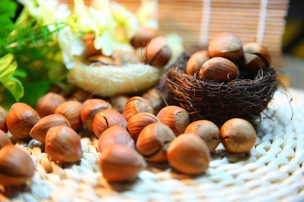 Орехи богаты растительным протеином