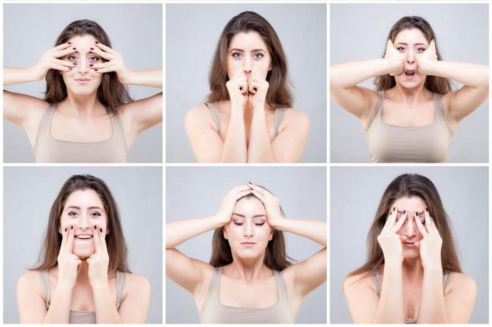 После комплекса упражнений нужно закрыть глаза и спокойно посидеть, дав, таким образом, мышцам лица немного остыть