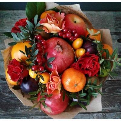 А как насчёт чудесной корзины с экзотическими фруктами, названий большинства о которых мы даже и не знаем?! Маракуйя, рамбутан, питахайя, кранадиллы, мангостаны, лонган, тамаринд… От одних названий уже дух захватывает