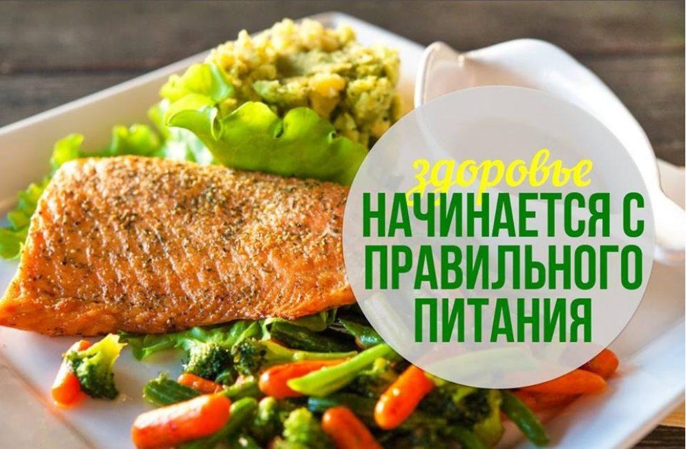 Правильное питание - залог здорового и спортивного тела