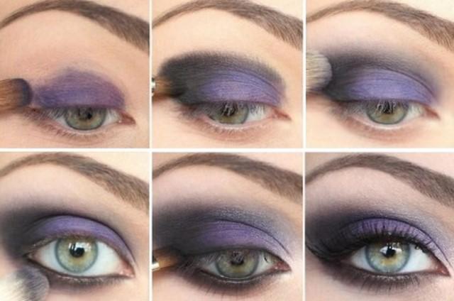 Макияж Smoky Eyes для зеленых глаз