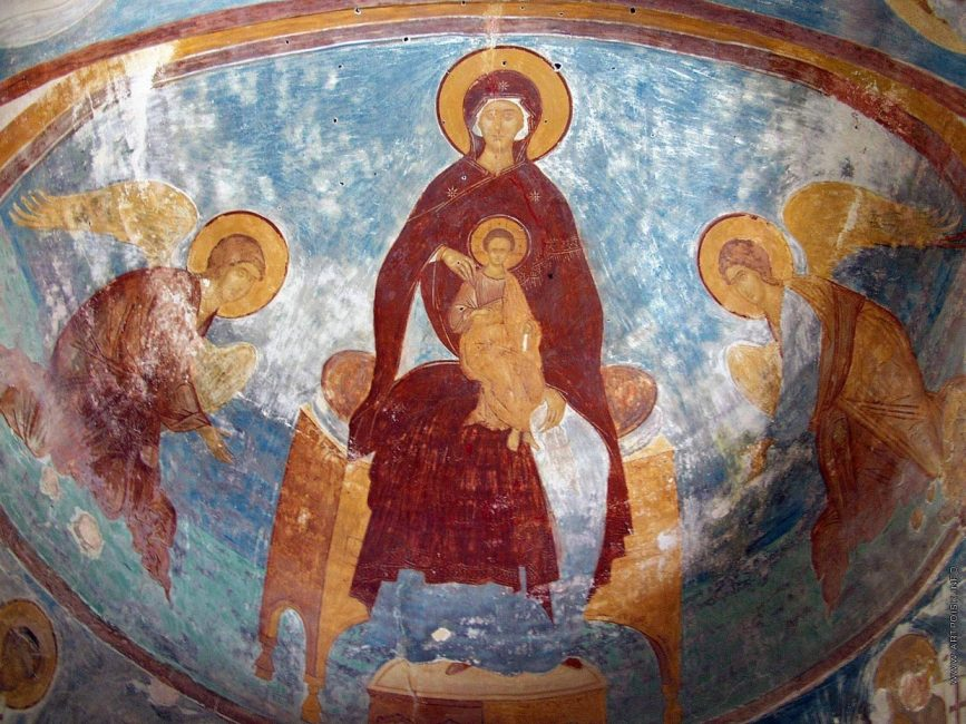 Роспись купола церкви