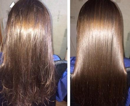 Ламинирование сухих волос