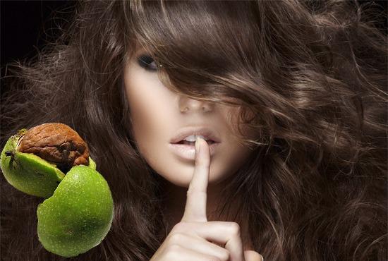 Грецкие орехи – народное средство для окрашивания волос