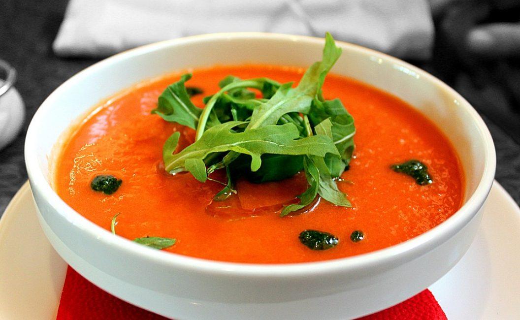 Суп-пюре из моркови и тыквы