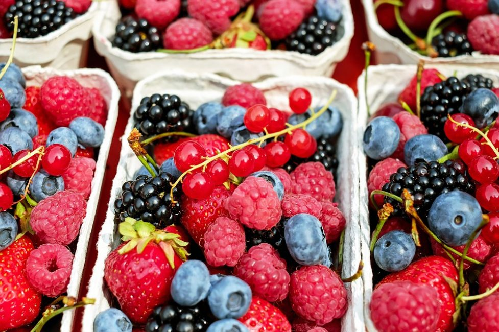 Воспользуйтесь фруктами и ягодами