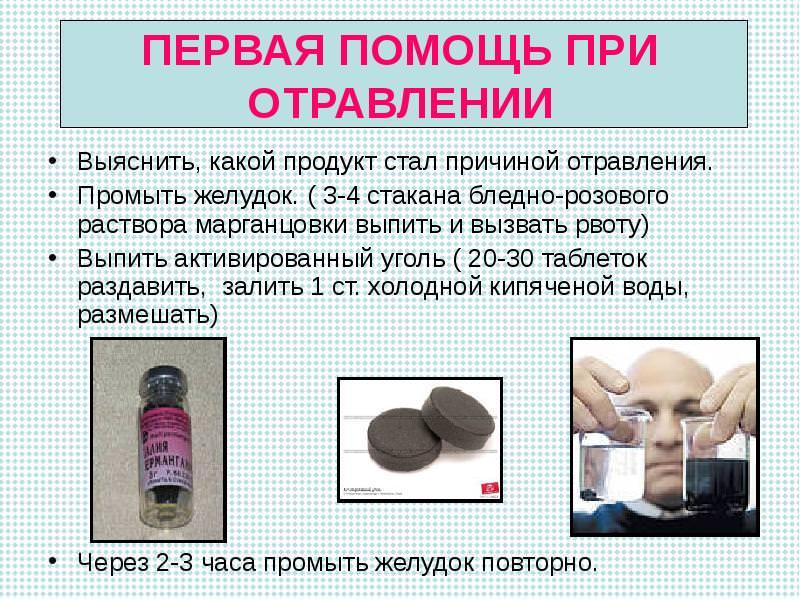 Помощь при отравлении
