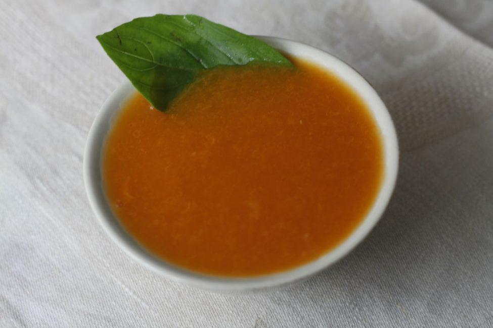 Суп из кураги протертый