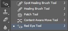 Устранение эффекта красных глаз