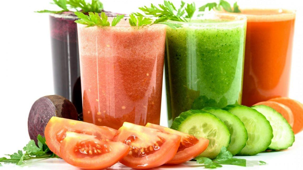 Варианты овощного смузи