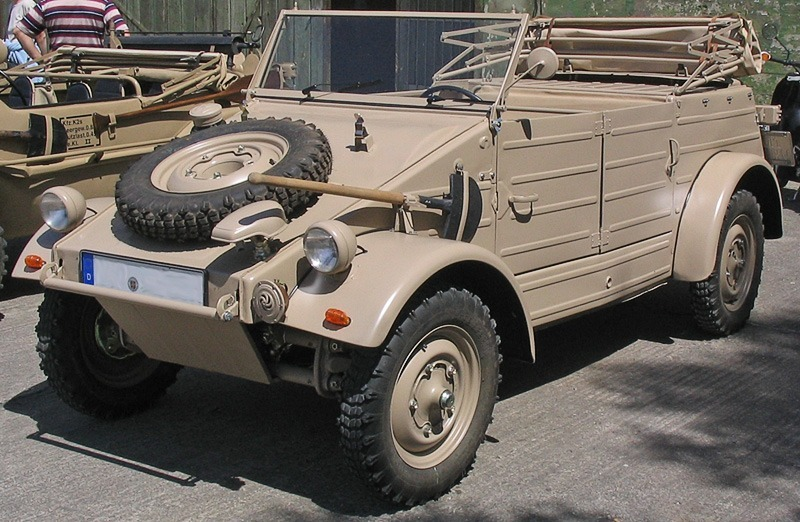 Volkswagen Typ 82 (Kübelwagen) на одной из современных выставок