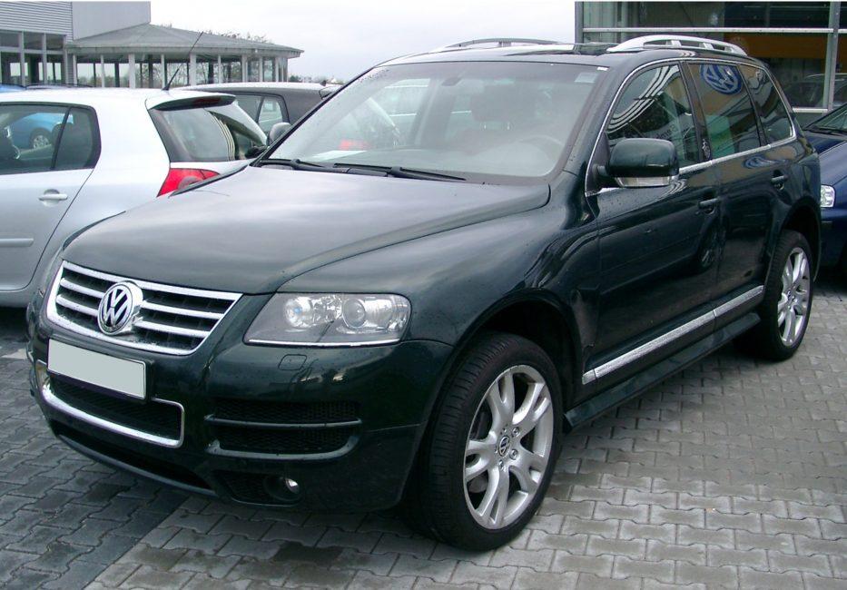 Volkswagen Touareg первого поколения