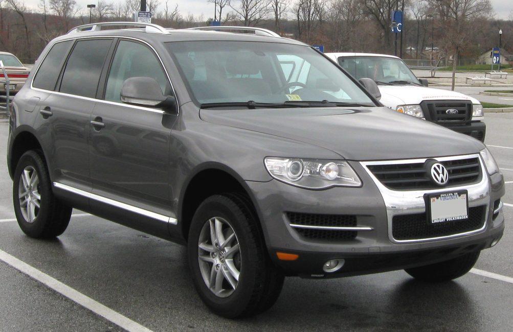 Volkswagen Touareg первого поколения после рестайлинга