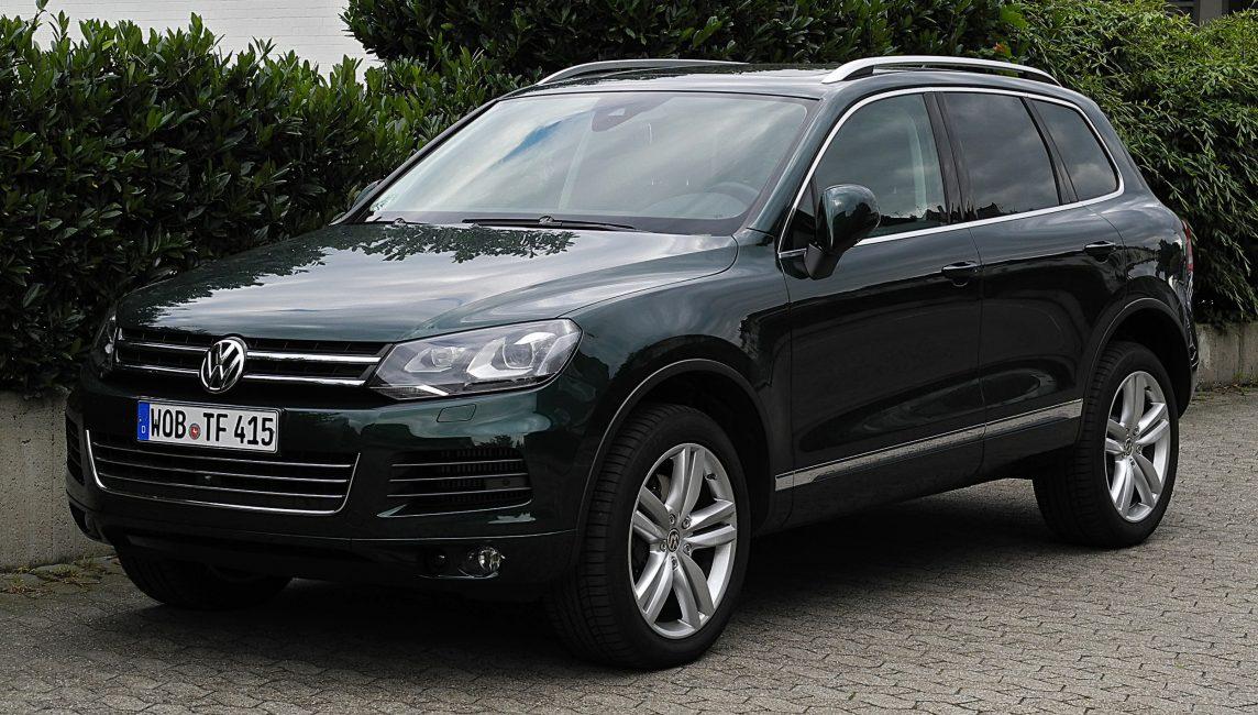 Volkswagen Touareg второго поколения