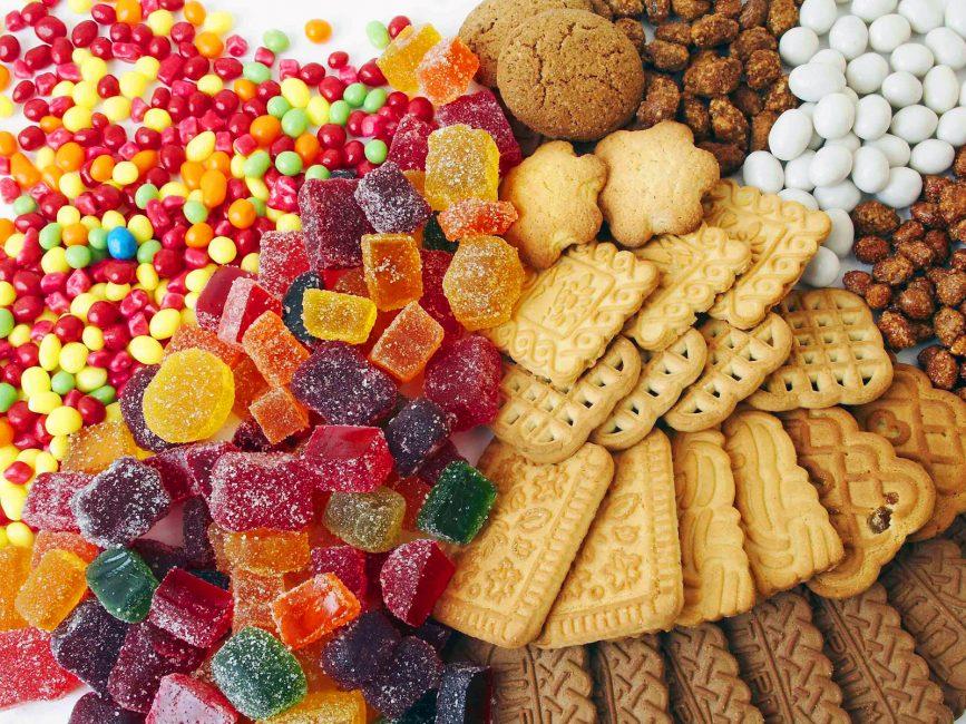 Исключите перед тренировкой сладости